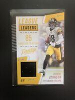 2020 Panini Prestige Diontae Johnson League Leaders Jersey Steelers