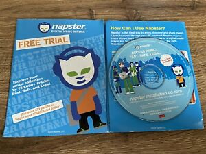 Free Trial Napster Installation Cd Rom Disc 2004