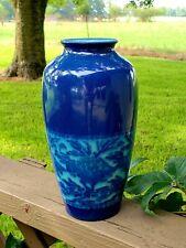 Rookwood 1922 Lorinda Epply Blue Floral Vase
