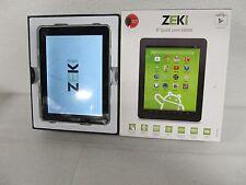 "ZEKI 8"" Android 4.3 Quad-Core Tablet (TBQG884B) 8GB *Defect (33338)"