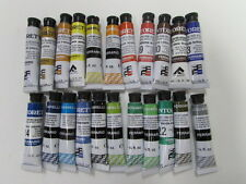 Lot of 22 -Ferrario TINTORETTO 7.5 ml  Artist Watercolor Paint Made in ITALY