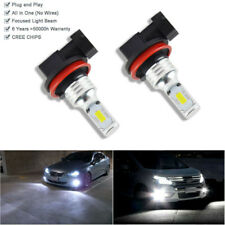 2 Bulbs H8 White High Power 100W Led Fog Lights Driving For Kia Optima 2011-2015
