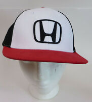 Honda Automobile Motor Corporation Hat Cap Snapback Red Black White