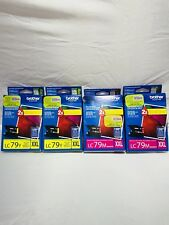 Brother 2X LC79M Magenta Ink Cartridge Brother 2X LC79Y Yellow Ink 4X NEW BUNDLE