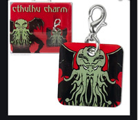 Cthulhu Charm HP Lovecraft Entity Diabolical Creature NEW in Gift Box Clip SEALE
