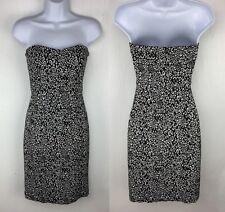 Anthropologie Strapless Geometric Cocktail Dress By Trina Turk Size 2