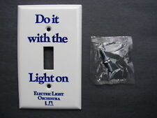 UNUSED ELO 1973 DO IT WITH THE LIGHT ON LIGHT SWITCH ELECTRIC LIGHT ORCHESTRA