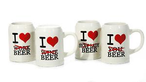 """Bierkrug """"I love Beer"""""""