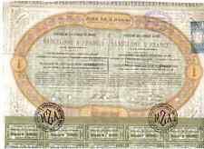Compania de los Caminos de Hierro Barcelona a Francia  1864