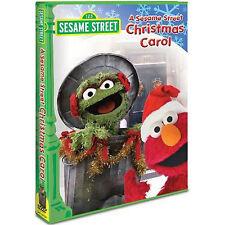 Sesame Street - A Sesame Street Christmas Carol (DVD, 2006) SEALED