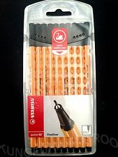 10 x STABILO POINT 88 BLACK FINELINERS PENS ART DRAWING DESIGN COLOURING SCHOOL