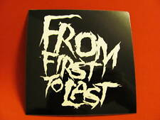From First To Last Worlds Away Punk Board Bike Sticker