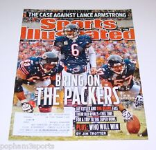 JAY CUTLER - Sports Illustrated SI - Chicago Bears - January 24, 2011
