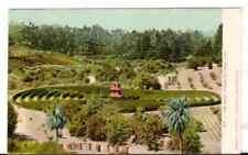 Undated Used Postcard The Maze Piedmont Park California CA