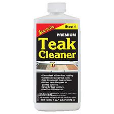 STARBRITE NEW Teak Premium Cleaner Step 1 - 473ml 16oz Star Brite