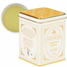 Harney & Sons Chamomile Herbal Tea, Classic Tin, 20 Sachets, white