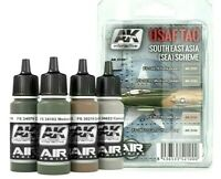 AK Interactive USAF TAC South East Asia (Sea) Scheme Acrylic Paints For Models