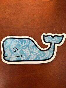 New Vineyard Vines Marlin Whale Sticker Laptop Yeti Car Decal