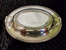International Silver Company Camille Silver plate Divided Server 6012S
