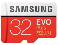 Samsung EVO Plus 32GB Micro SD SDHC UHS-I Card with Adapt 95mb sec