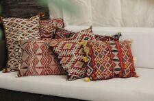 Traditional Moroccan berber Vintage Pillow Kilim,Handmade,Handwoven 21 inch/15 i