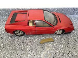 Pocher 1/8 Ferrari Testarossa ReBuilder Or Parts Car Restoration Red