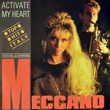 "7"" MECCANO Activate My Heart / Romeo NADIA BANI Italo Disco ARIOLA1986 like NEW!"