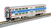 Kato 156-0972 Pullman Bi-Level Cab-Coach Chicago Metra #8750 N Scale