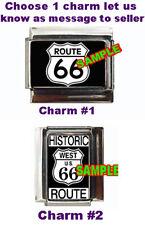Route 66 Custom Italian Charm USA Historic West