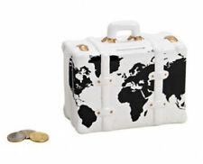 Tirelire Valise - Carte du monde