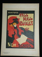 MAITRES DE L'AFFICHE - Pl. 24 : ILLUSTRATED PALL MALL BUDGET 6D NEW SERIE