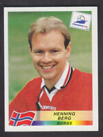 Panini - France 98 World Cup - # 71 Henning Berg - Norge