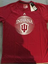 Adidas Men's Indiana Hoosiers Basketball Jersey T-Shirt Large Xl Red