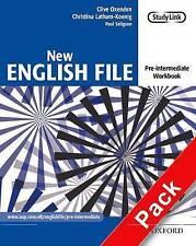 New English File: Pre-intermediate: Workbook with MultiROM Pack. Six-level gener