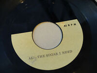 "Female Teen / Mod Instro Soul Acetate ""All The Sugar I Need/Nothin"" Listen MP3"
