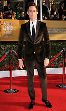 Hombre Marrón Esmoquin Trajes de Diseño Boda Novios Terciopelo Abrigo (Abrigo +