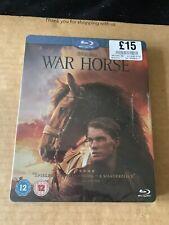 WAR HORSE (2011) BLU RAY STEELBOOK NEW & SEALED STEVEN SPIELBERG