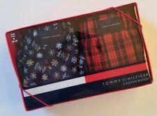 Tommy Hilfiger Underwear Boxer Short Gift Set Small 28-30 Snowflake Plaid