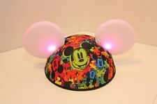Disney Mickey Mouse Light Up Ears Hat w/ Multi Color Led