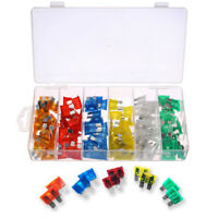 120pc Blade Fuse Assortment Auto Car Truck Motorcycle FUSES Kit ATC ATO ATM