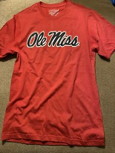Mens New Ole Miss Rebels Shirt Medium M