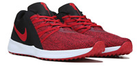 MEN'S VARSITY COMPETE WIDE TRAINING SHOE RUNNING TENNIS SNEAKER BLACK/RED NEW