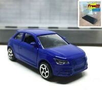 Majorette Audi A1 Blue (Whole Blue Body) 1/58 237E no Package Free Display Box