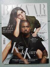 Kanye West Kim Kardashian Harpers Bazaar MALAYSIA Magazine September 2016 RARE