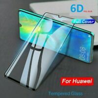 For Huawei P40 P30 Lite Pro P SMART Full Cover Tempered Glass Screen Protector