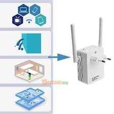 Mini Router Repeater Verstärker Wireless 300 Mbit Wifi WLAN Client Dual Antenna