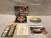 VG++ GUARDIAN HEROES Sega Saturn SS NTSC-J Japan IMPORT Tested works OBI SPINE
