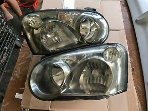 JDM Subaru Impreza wrx GDb sti 02-03' v8  version 8 headlights ver 04-05'