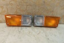 PAIR NOS FIFFT FRONT SIGNAL FLASHER LIGHT LAMP CLASSIC RENAULT 5 Series 1