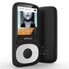 WIWOO SMALL MP3 Player w/ Bluetooth, 16GB FM Radio